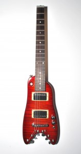Cherry Sunburst Rambler Classic Travel Guitar - front view