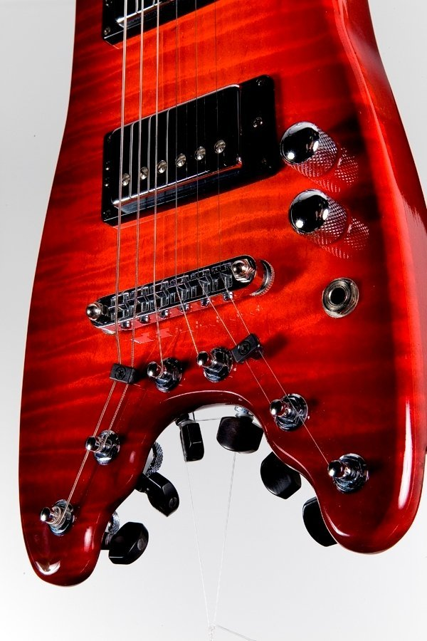 Custom Rambler with a Rubyburst finish