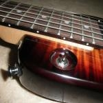Tobacco Sunburst Rambler Classic - recessed selector switch