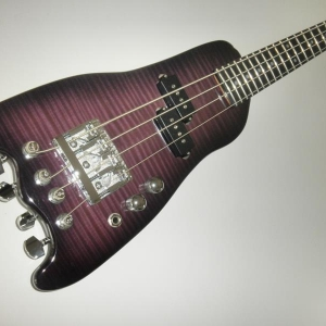 Custom Rambler Bass in Deep Purple