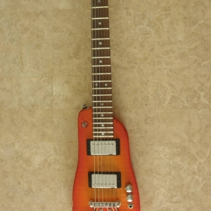 Tangerine Burst Custom Rambler Portable Guitar