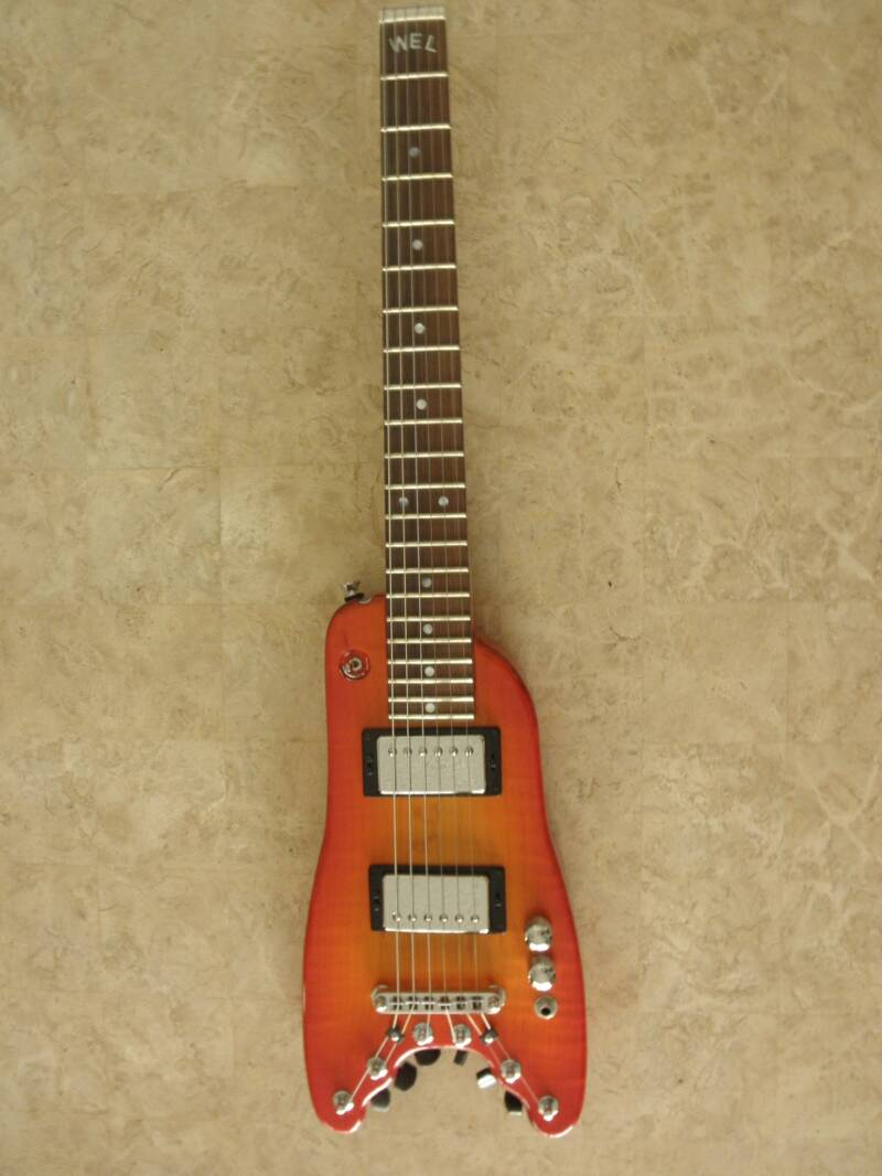 Tangerine Burst Custom Rambler Portable Guitar