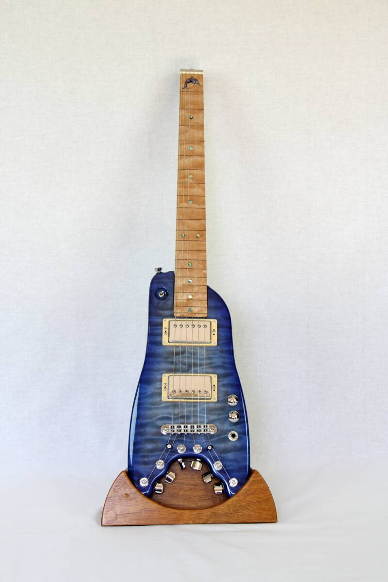 Rambler Travel Guitar - Blue Dolphin