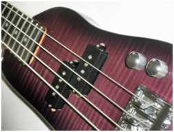 This custom Rambler® Bass pickups are Schaller PBA Precision Bass Humbuckers