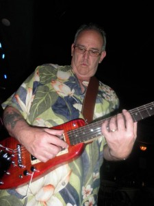 "JImmy Thacker playing ""Cool Guitar"" on his Rambler Travel Guitar"