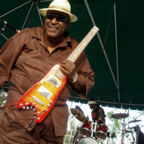 Joey Gilmore loved playing his Rambler Professional Travel Guitar