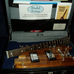 KOA Rambler Travel Guitar in a Briefcase