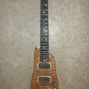 Rambler Custom Travel Guitar - Quilted Maple Natural Finish