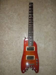 Rambler Custom Travel Guitar - Tangerine Burst