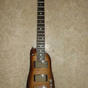 Rambler Custom Travel Guitar - Tobacco Sunburst