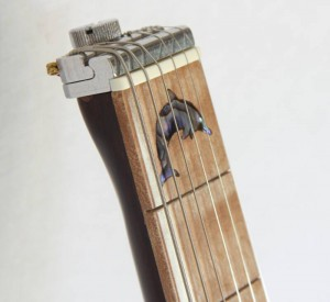 Rambler Travel Guitar with Dolphin Inlay