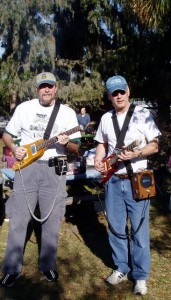 Rocking out in the wilderness with Rambler Travel Guitars