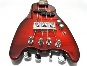Rambler Custom Travel Bass in Rubyburst