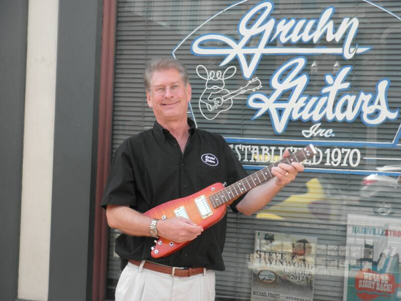 Strobel Guitars at Gruhn's in Nashville