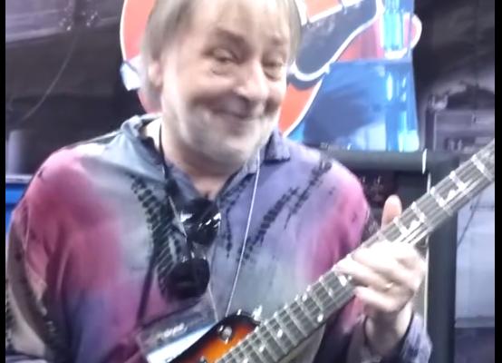 Elliott Randall Playing his Strobel Rambler® Travel Guitar