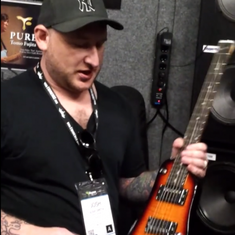 Josh Smith talking about his Rambler Travel Guitar