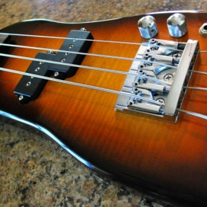 Rambler Custom Travel Bass - Tobacco Sunburst