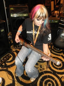 She likes the new Rambler Custom Travel Bass