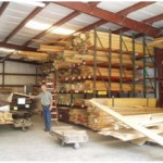 Russ Strobel visiting Merrill's Wood Shed in Alva, FL