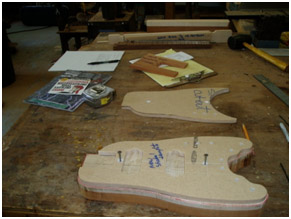 Putting the templates back onto the Rambler® body