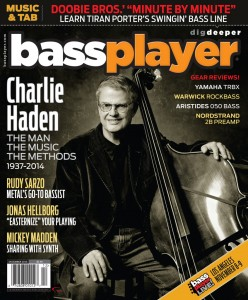 Bass Player Magazine feature Strobel Professional Travel Guitars