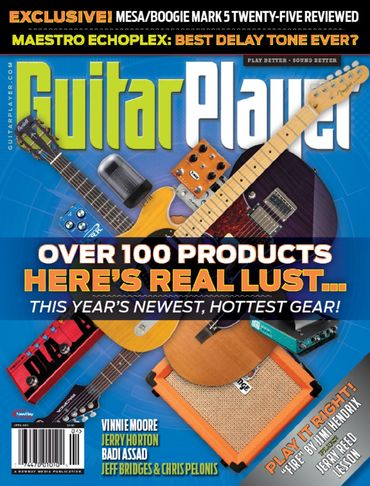 Guitar Player Magazine Cover April 2015