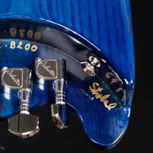 Blue Rambler Travel Bass signed