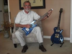 Custom Blue Rambler Travel Bass - Jim Mosco
