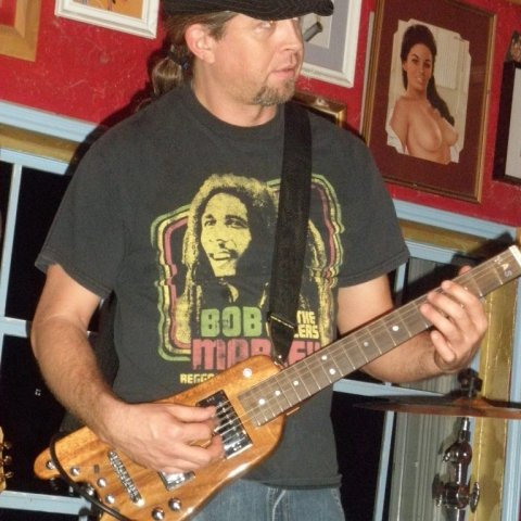 JP Soars Playing KOA Rambler Custom Portable Guitar Dec 2009
