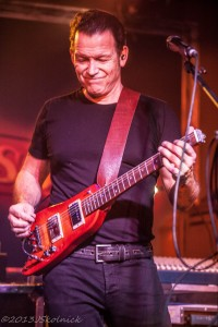 Tommy Castro making a Rambler Travel Guitar (photo courtesy of Jay Skolink)