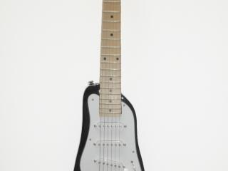 Black STROBELCASTER Travel Guitar
