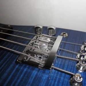 Blue Rambler Travel Electric Bass Schaller D4 Roller Bridge