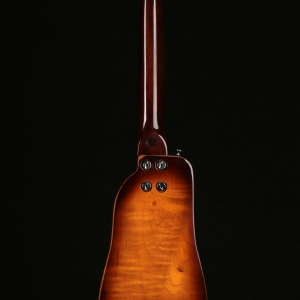 Rambler Travel Guitar RS-175 Hollowbody Back View