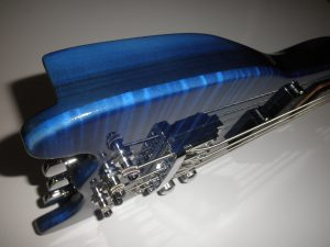 Blue Rambler Portable Bass Side View