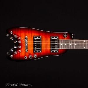 Rambler Classic Travel Guitar Tobacco Sunburst front