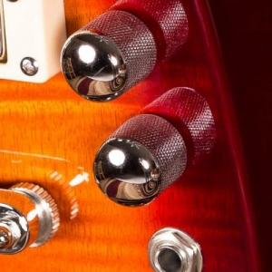 Rambler Travel Guitar Volume and Tone Controls