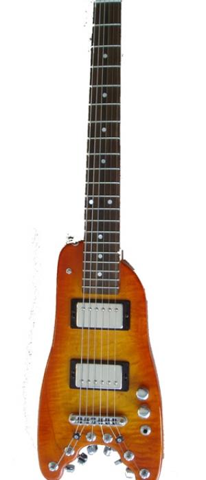 Headless-Guitar - Custom Rambler Tangerine Burst