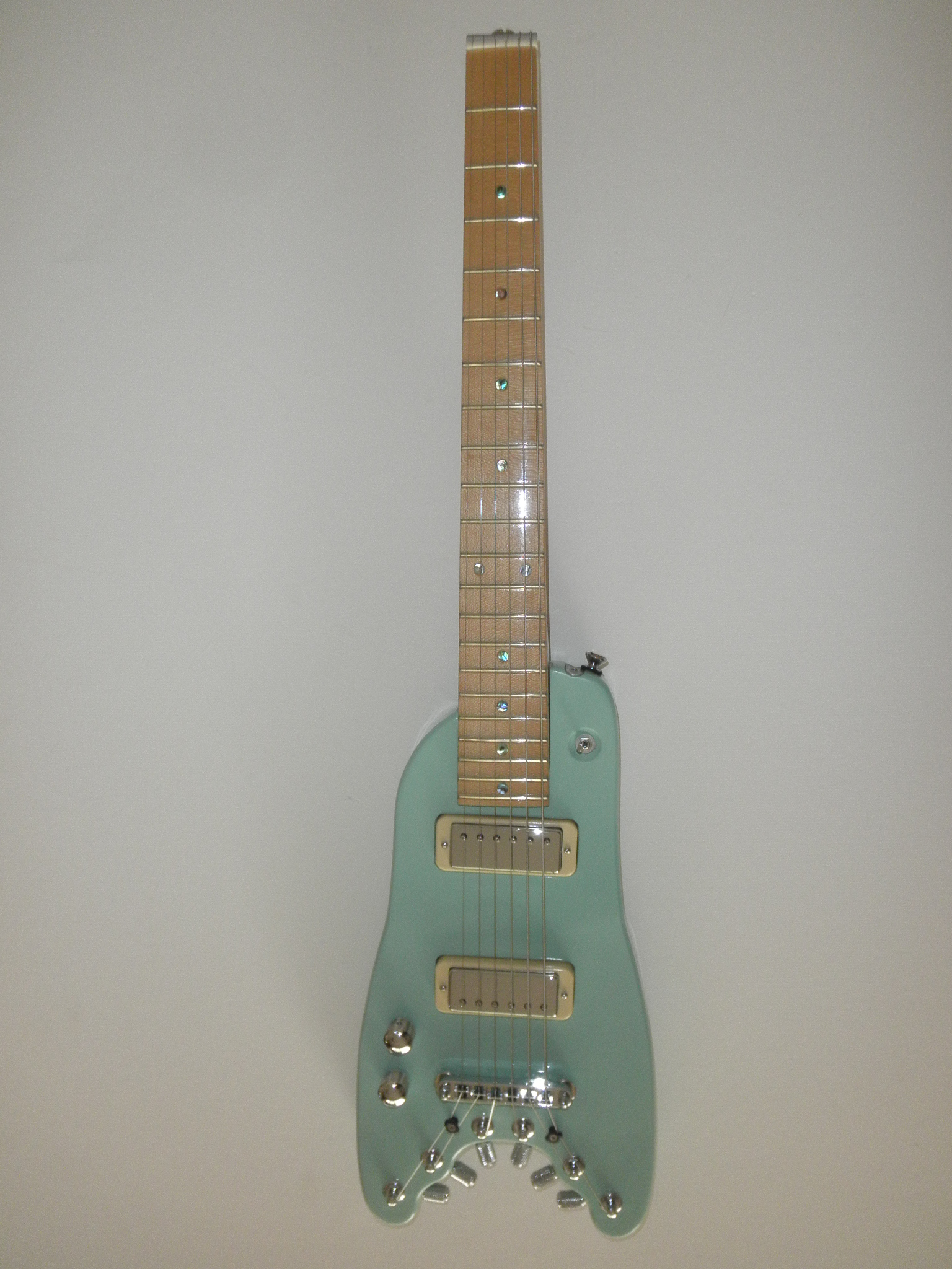 Lefty Custom Rambler Travel Guitar in Surf Green