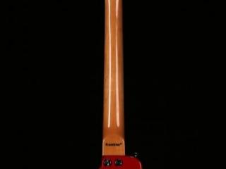 Dakota Red STROBELCASTER Custom Travel Guitar - Back view