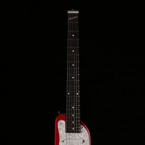 Dakota Red STROBELCASTER Travel Guitar - Front - Zexcoil pick ups