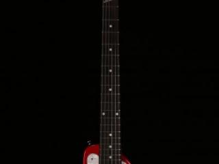 Dakota Red STROBELCASTER Travel Guitar - Front - Zexcoil pick ups