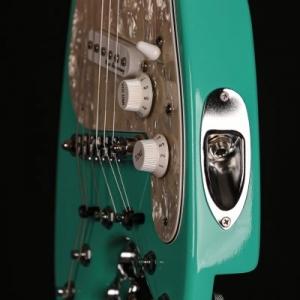 Electric Travel Guitar - Sea Foam Green STROBELCASTER Plus