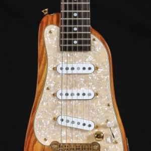 STROBELCASTER Custom Electric Travel Guitar