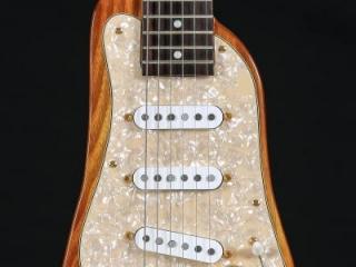 STROBELCASTER Custom Electric Travel Guitar