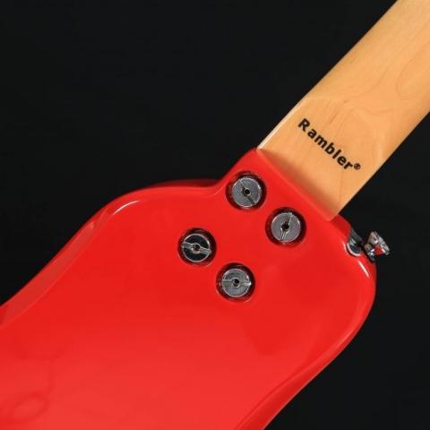 Dakota Red STROBELCASTER Travel Guitar with Detachable Neck