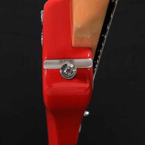 StringCatcher on Custom STROBELCASTER Travel Guitar