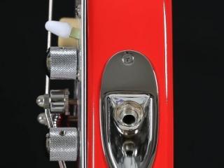 STROBELCASTER Plus Electric Travel Guitar - STRAT Jack