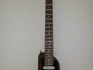 STROBELCASTER Custom Electric Travel Guitar - Tobacco Sunburst