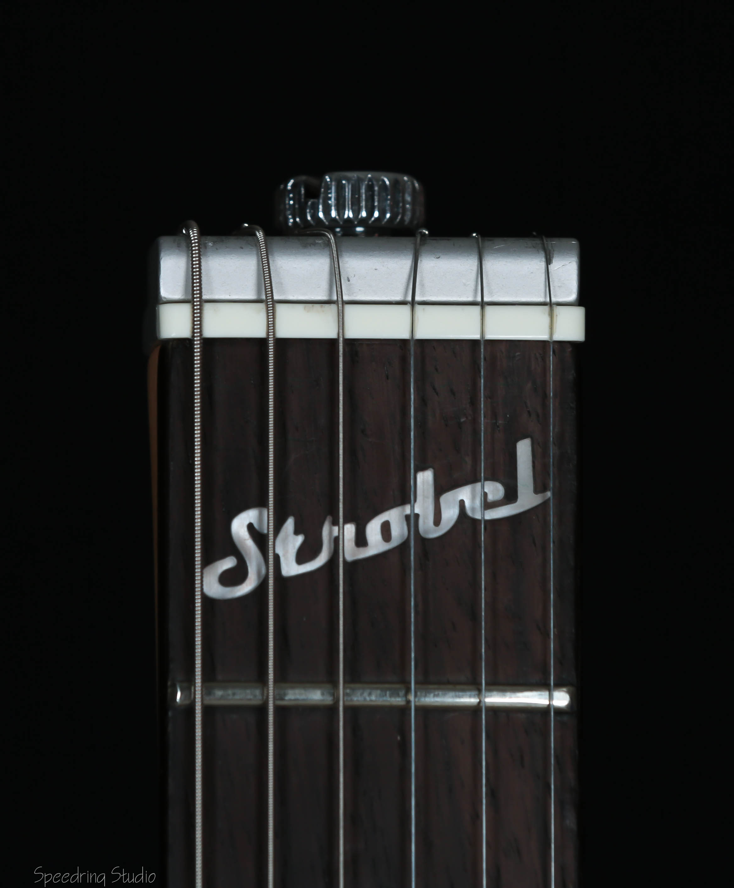 Rambler Portable Guitar Neck with Strobel logo