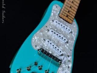 Electric Travel Guitar - STROBELCASTER Plus Daphne Blue